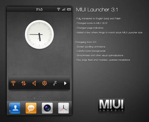 MIUI Launcher 3.1