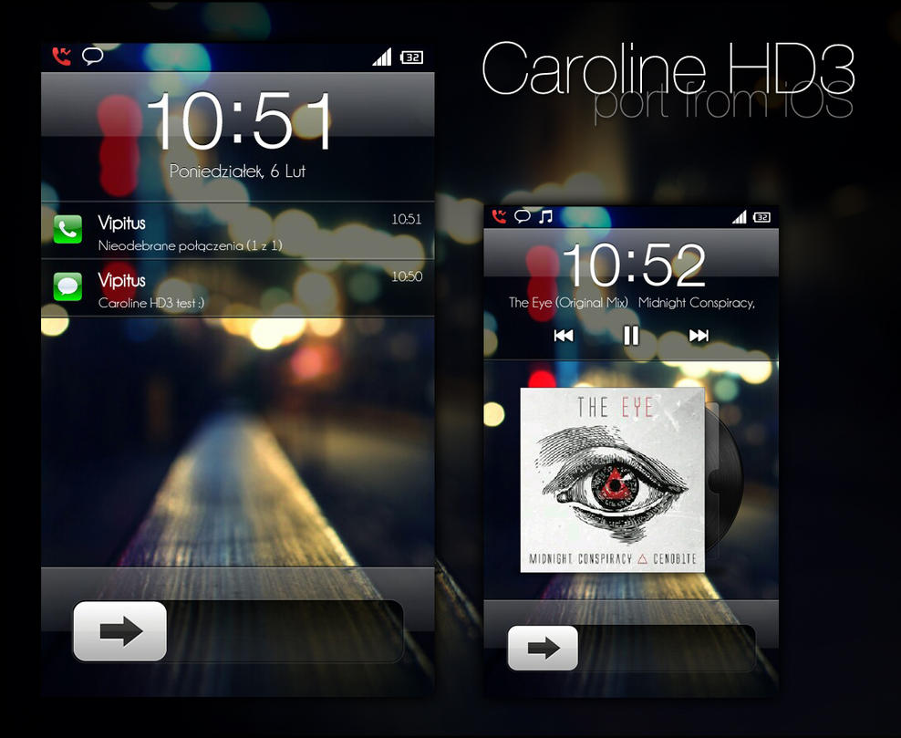 Caroline HD3 - MIUI LS by Vipitus