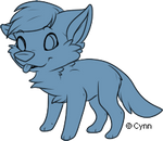 Free to use Adoptable Canine Lineart PSD