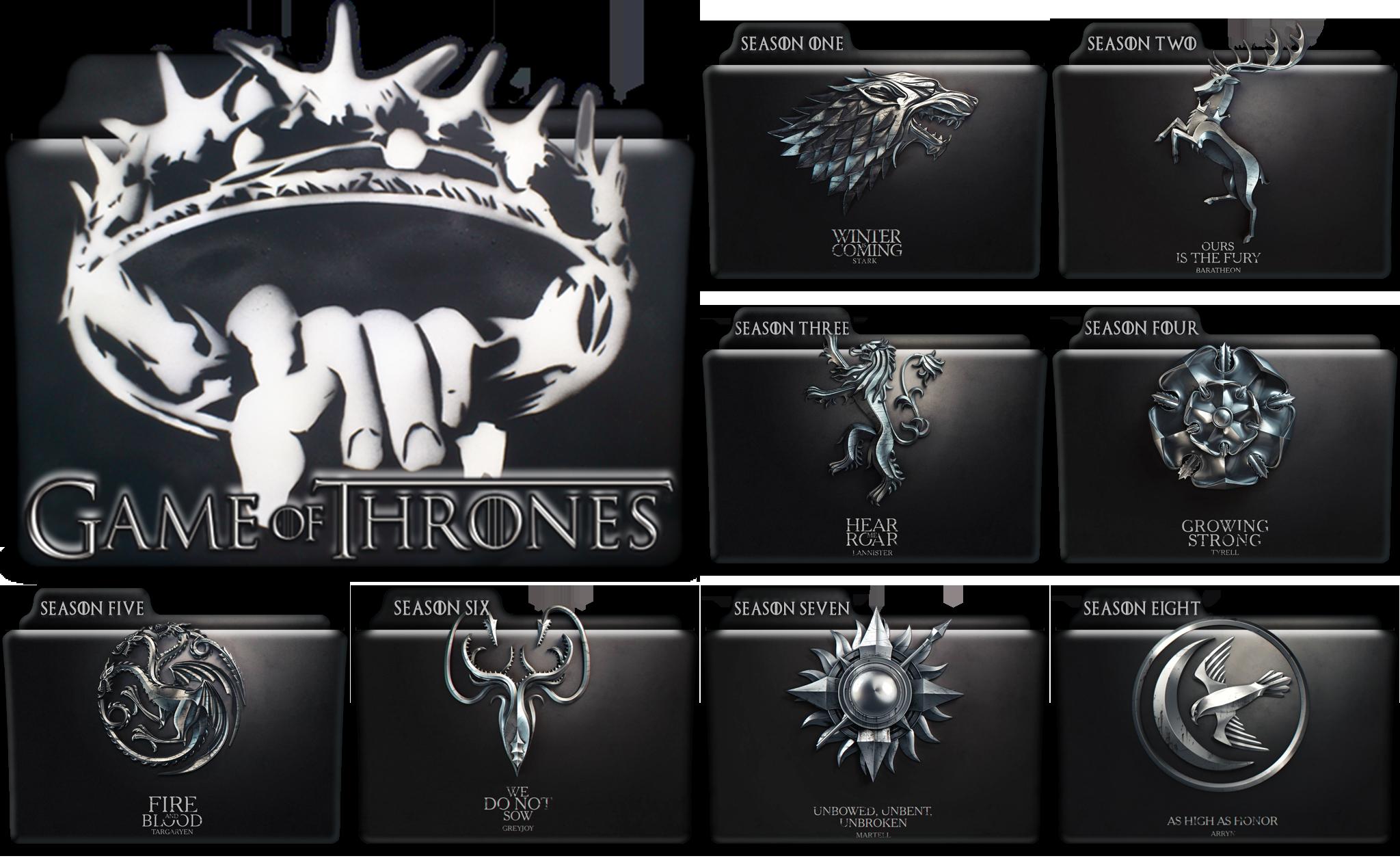 game of thrones desktop icons