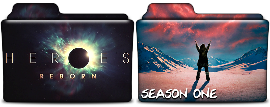 Heroes reborn tv show folders in png and ico by vikkipoe24 on