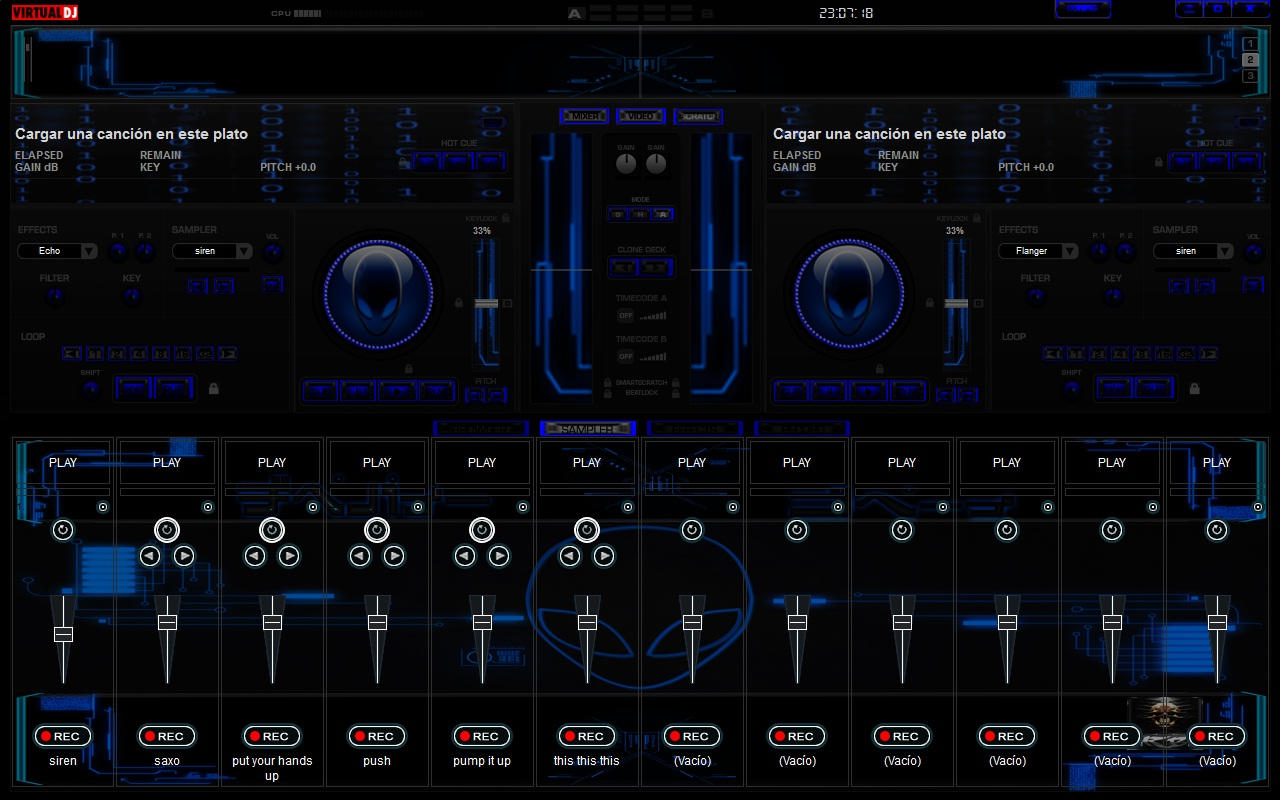 Blue 2012 For Virtual DJ 7 Dj Wallpaper Free Download