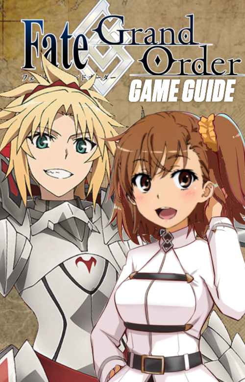 Mordred and Mikoto's Guide To FGO (cover) by MisakaLovesYou on
