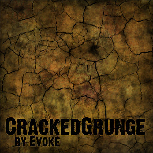 Cracked Grunge Brush by EvokeArt