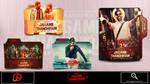 Jagame Thandhiram (2021) Folder Icon by Pradpdev11