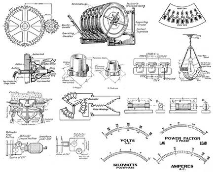 1920's Electrical schematics