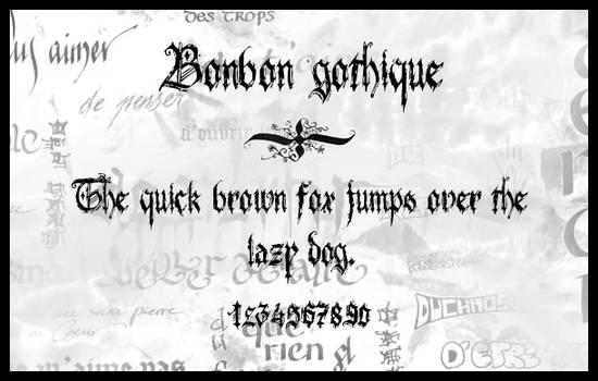 Bonbon gothique