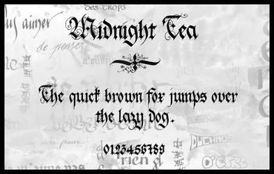 Midnight Tea by Holyrose