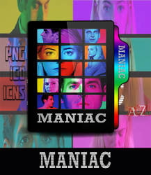 Maniac Netfilx Mini-Series 2018 Folder icon by MrJoKeR610