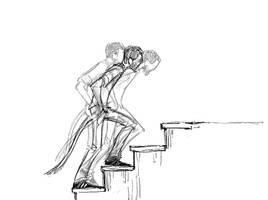 stair cycle by Laemeur
