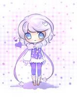 Heart Bunny by mochatchi