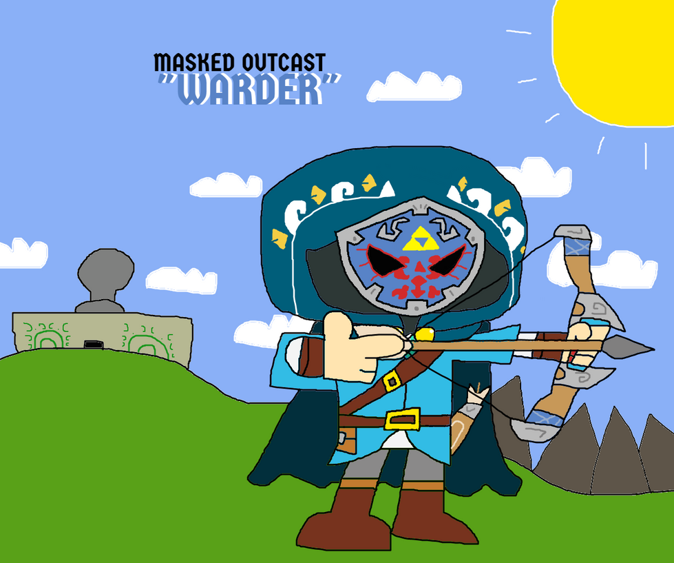 Masked Outcast (The Legend of Zelda OC) by illcitvirus115