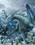 RIFTER 64 Palladium Fantasy Ice Dwellers painted