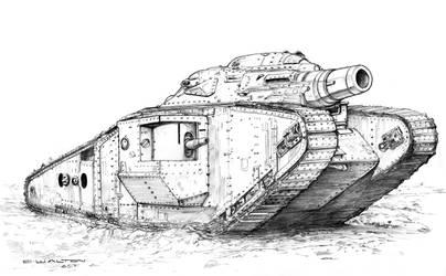Wild Skies Europa Tempest  British Tank 1