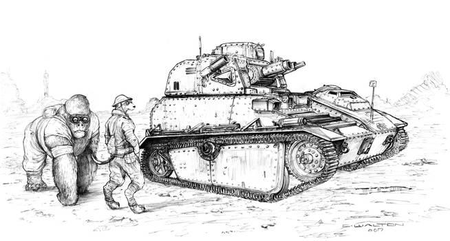 Wild Skies Europa Tempest British Tank 2