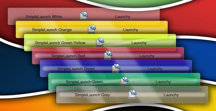 SimpleLaunch Launchy skin by lukeXcze on DeviantArt