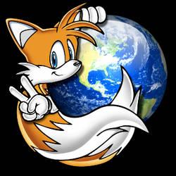 Tails Firefox Icon by RushFreak2