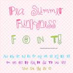 Pea Summer Funkyness - FontO1*