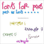 Fonts for Peas - PACK*