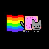 Nyan Cat Boot Screen by Jonathanchan6