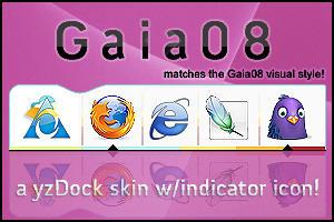 Gaia 08 yzDock skin by comotized