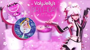[MMD] ValyJelly's Birthday pack DL by ValyJelly