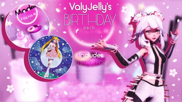 [MMD] ValyJelly's Birthday pack DL