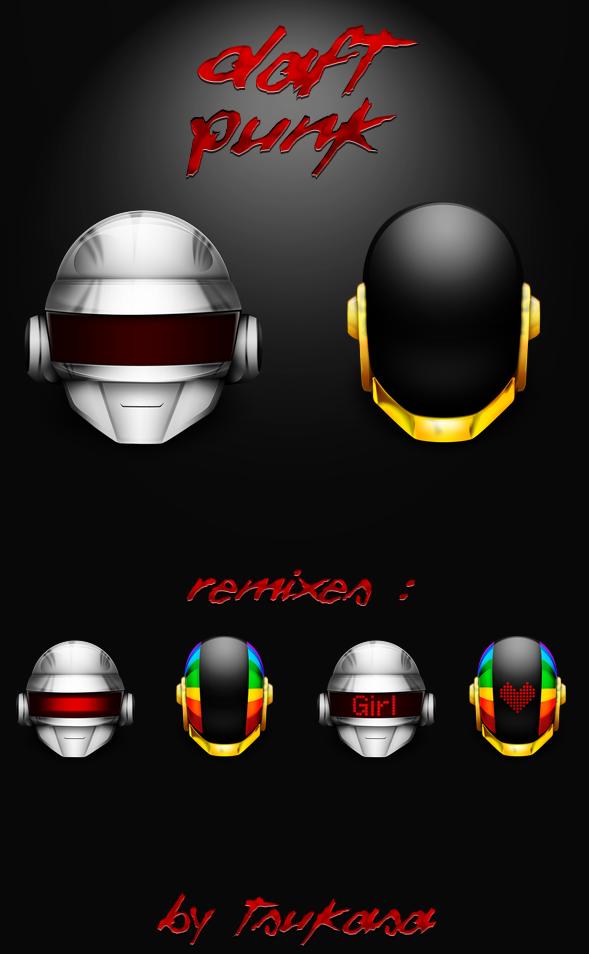 Thomas, Guyman, Daft Punks. by Tsukasa-Tux