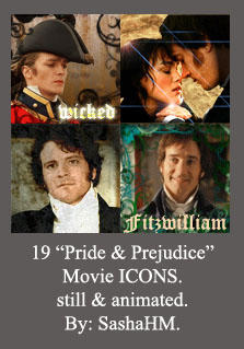 Pride and Prejudice ICONS by Sashahm