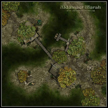 Aldamaer Marsh by Neyjour