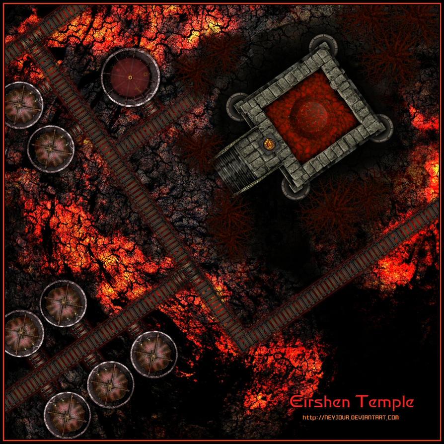 Eirshen Temple By Neyjour On Deviantart