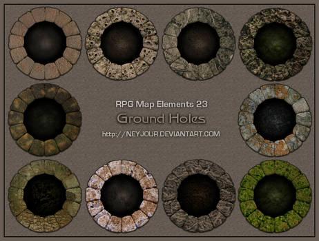 RPG Map Elements 23