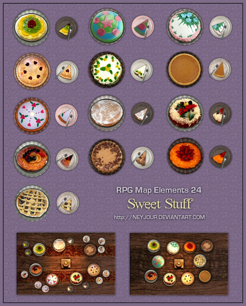 List The Elements Of Art : Rpg map elements by neyjour on deviantart
