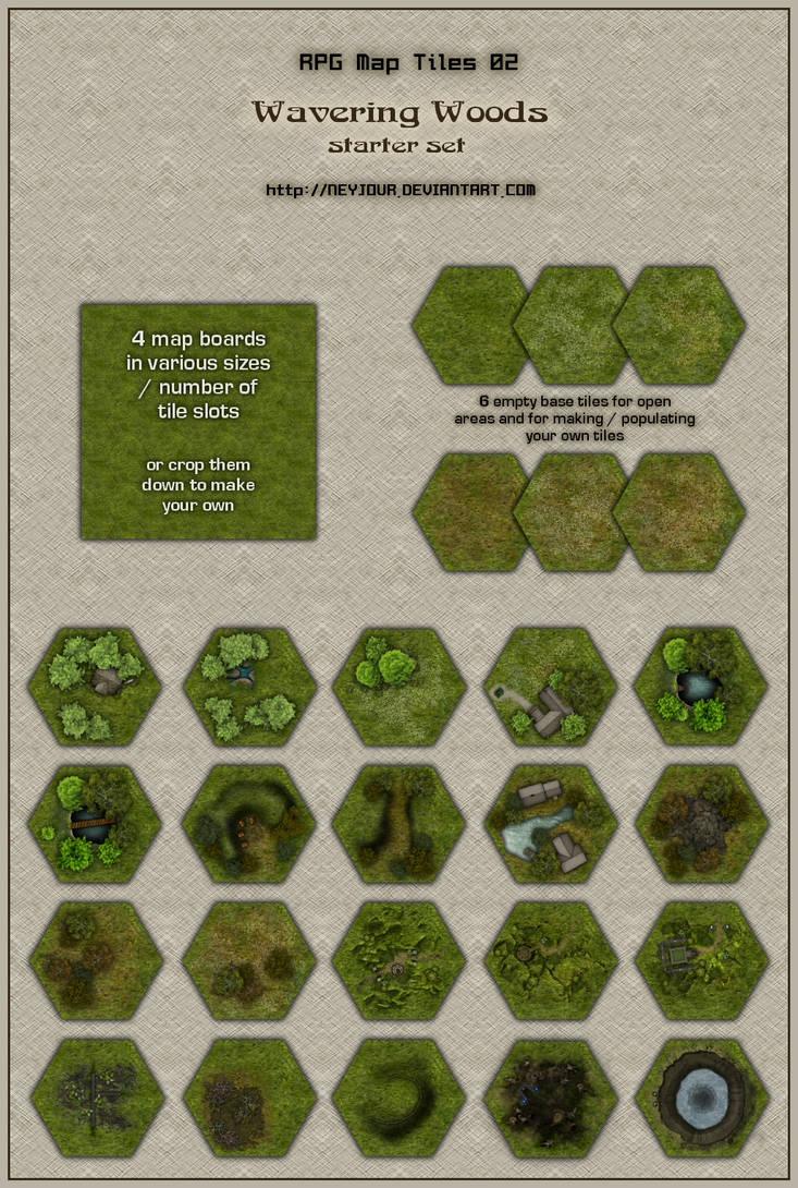 Rpg map tiles 02 by neyjour