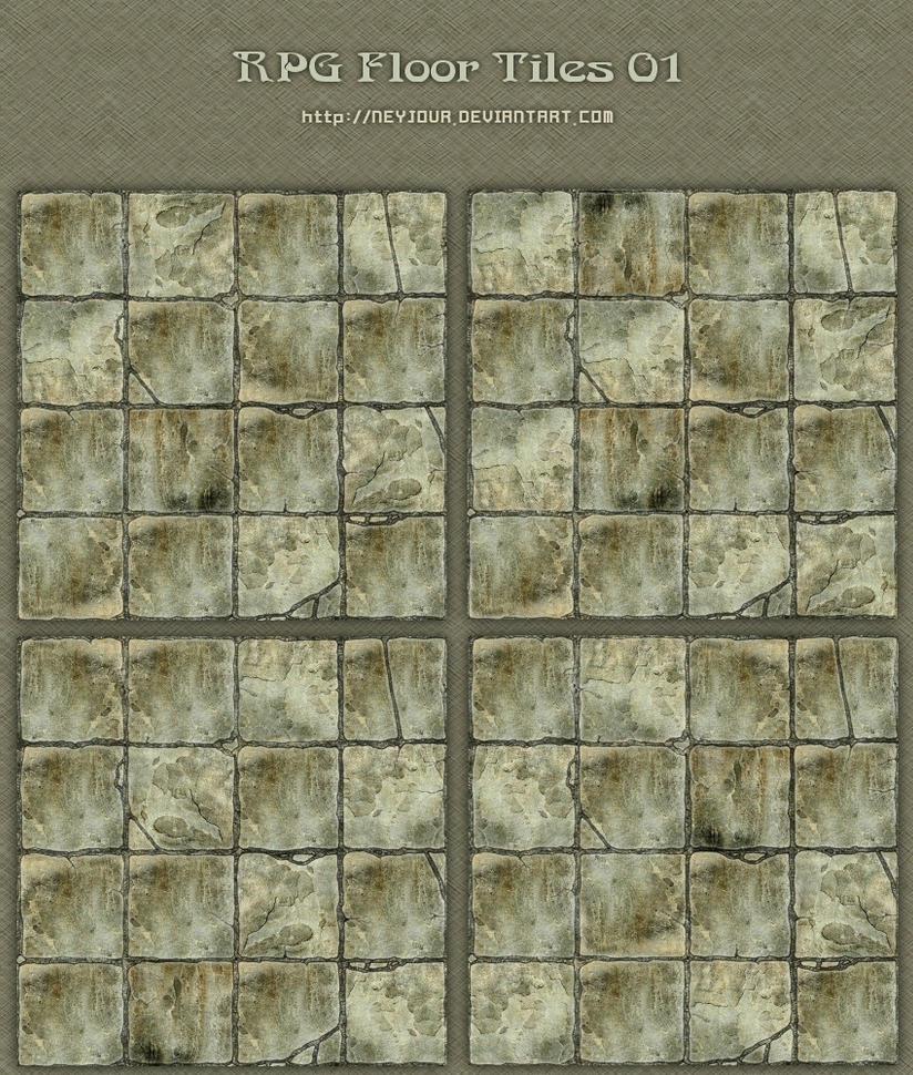 Rpg floor tiles 01 by neyjour on deviantart for Floor 2 dungeon map