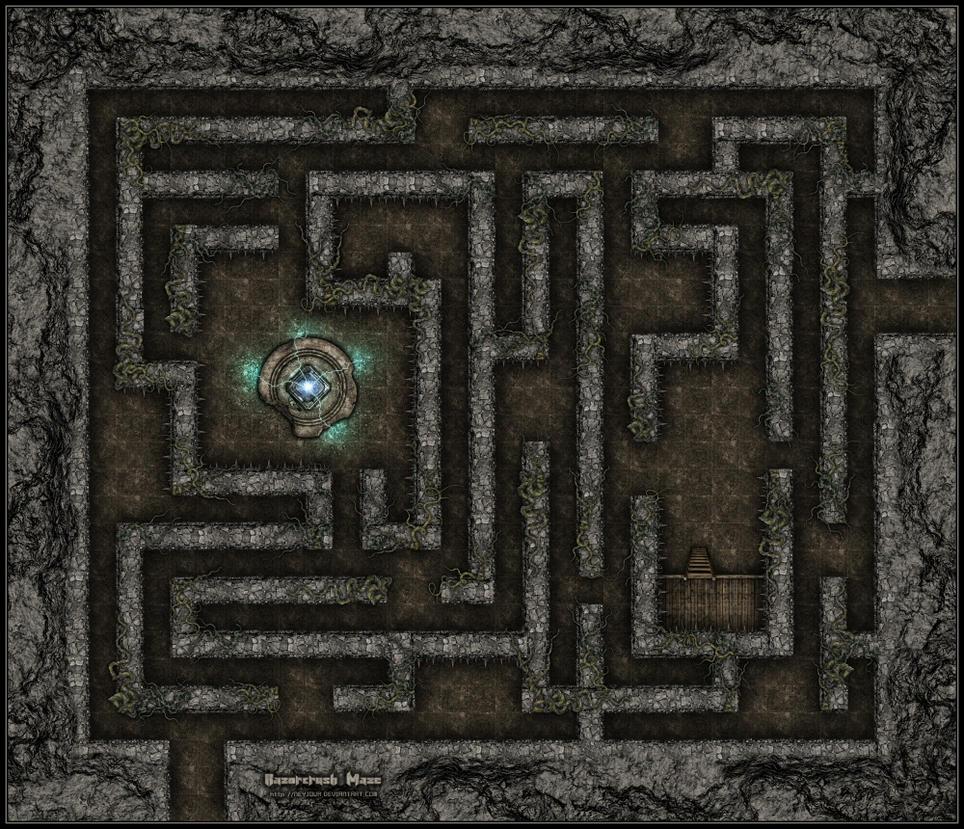 Razorcrush Maze by Neyjour