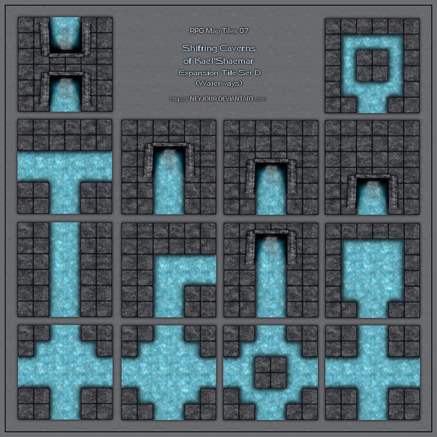 RPG Map Tiles 07 by Neyjour
