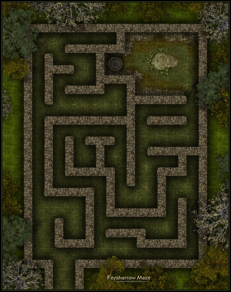 Feysharrow Maze by Neyjour