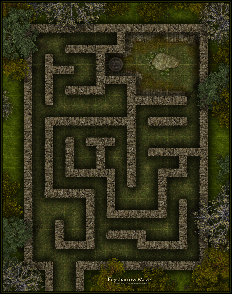 Feysharrow Maze By Neyjour On Deviantart