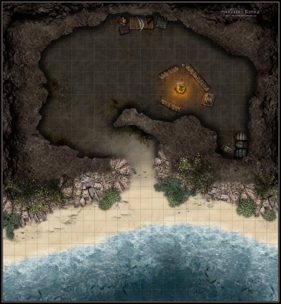 Smuggler's Refuge by Neyjour