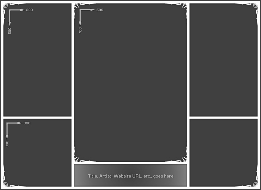 Photo collage template cyberuse for 4 picture collage template
