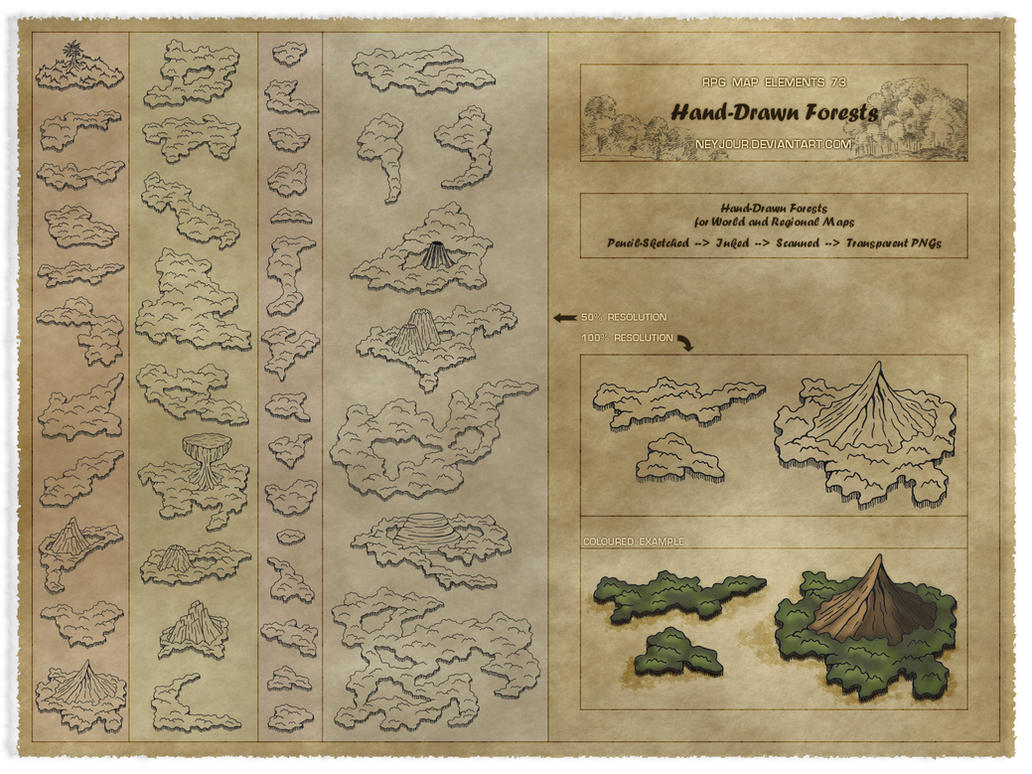 RPG Map Elements 73 by Neyjour