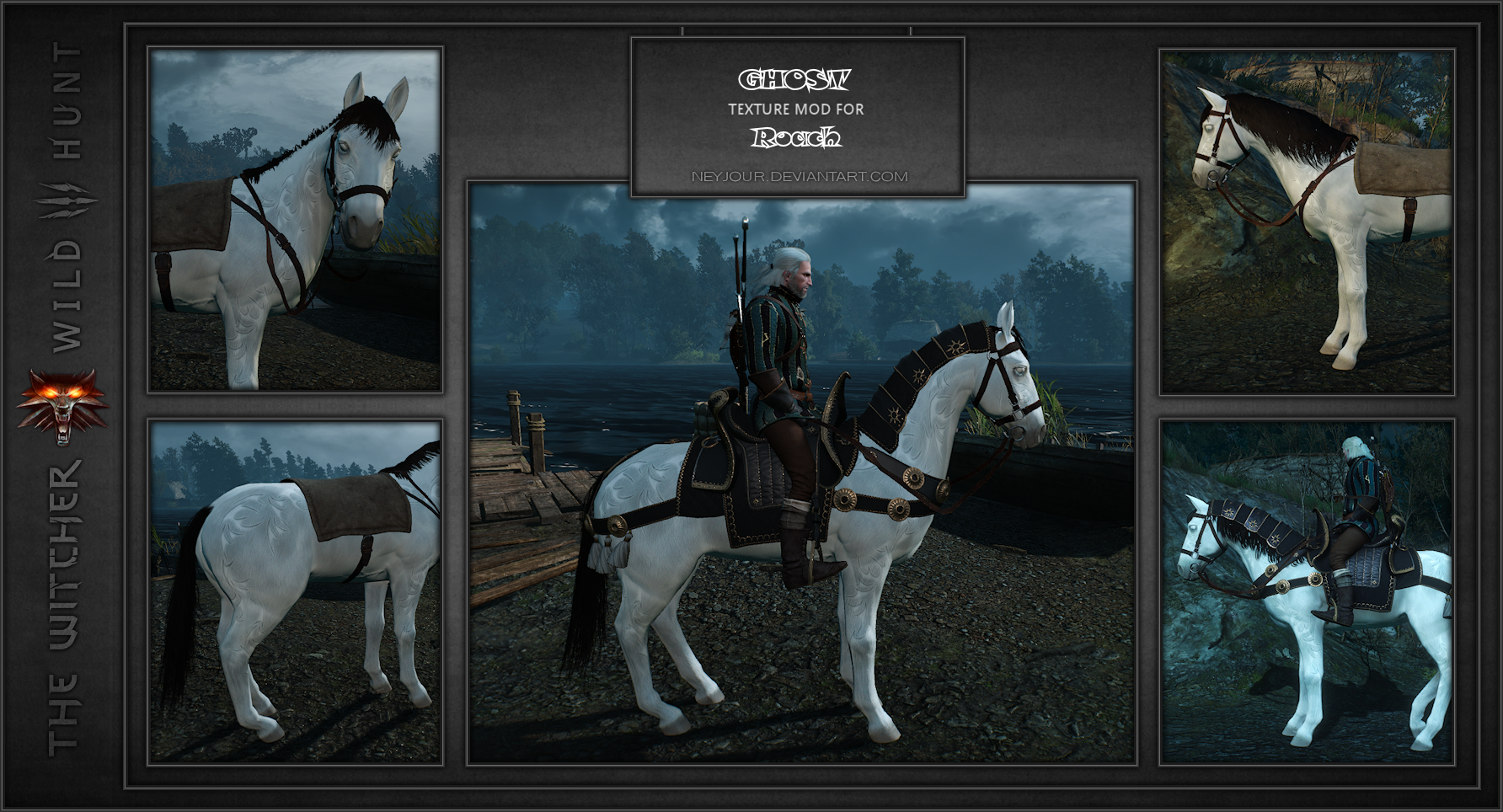 Ghost Texture MOD for Roach by Neyjour on DeviantArt