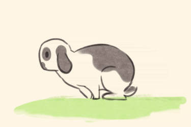 Bunny Hop Cycle Animation by annabelle-l