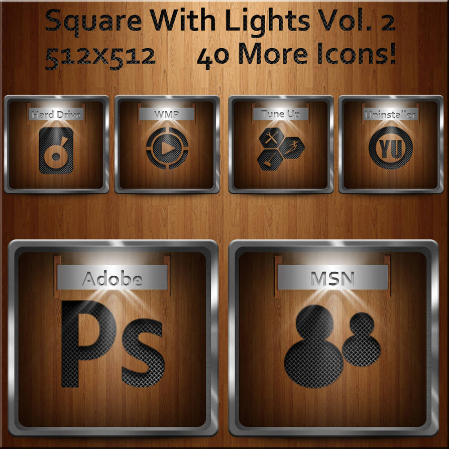 Square with Lights Vol. 2 by dwrowan