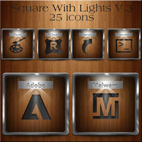 Square with Lights Vol. 3 by dwrowan