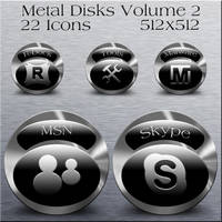 Metal Disks Volume 2 by dwrowan