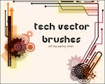 Tech vector Brushes