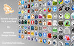 Gowalla OS X Icon Pack