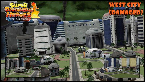 [MMD SDBH:WM] - West City (Damaged) Stage DL!